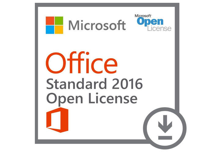 Genuine Standard Microsoft Office 2016 Key Code COA Sticker Pack FPP License Online Activation